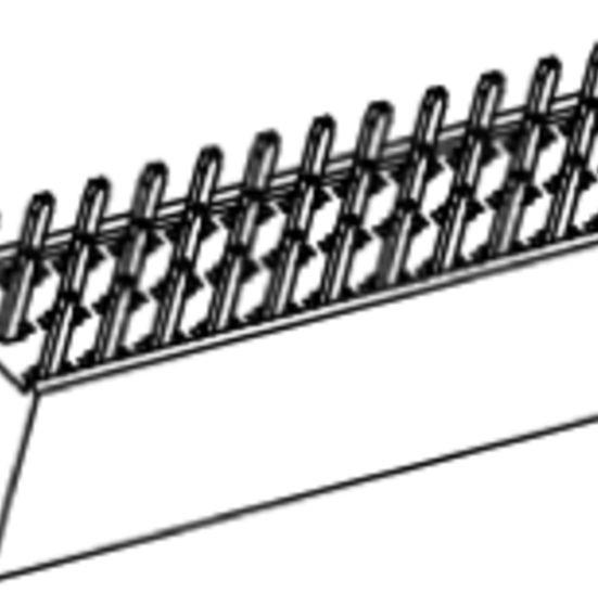 Produkt Nr. B254176 (2.54 mm Pitch; THT)