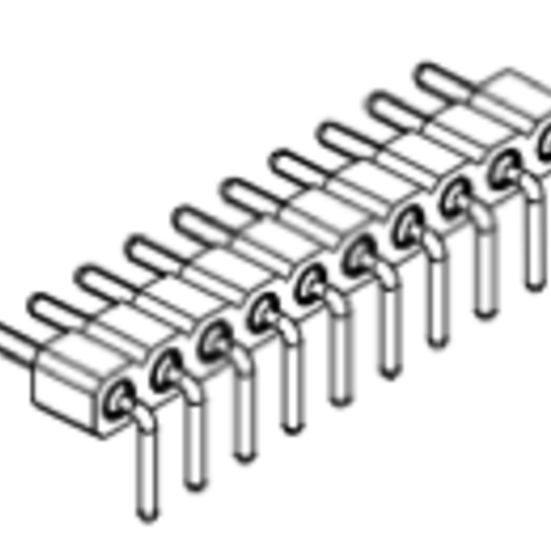 Produkt Nr. AP254123 (2.54 mm Pitch; THT)