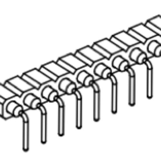 Produkt Nr. BP254127 (2.54 mm Pitch; THT)