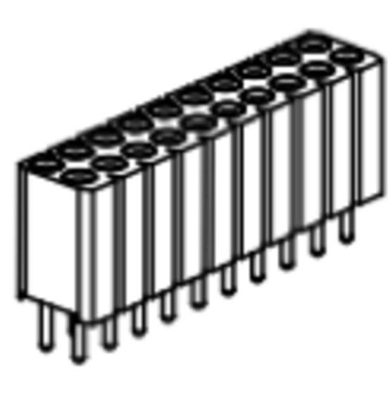Produkt Nr. BP254124 (2.54 mm Pitch; THT)