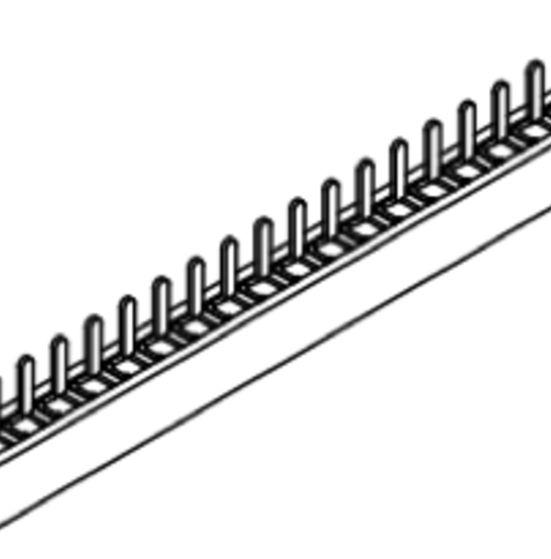 Produkt Nr. B127103 (1.27 mm Pitch; THT)