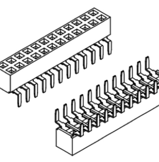 Produkt Nr. B254104 (2.54 mm Pitch; THT)