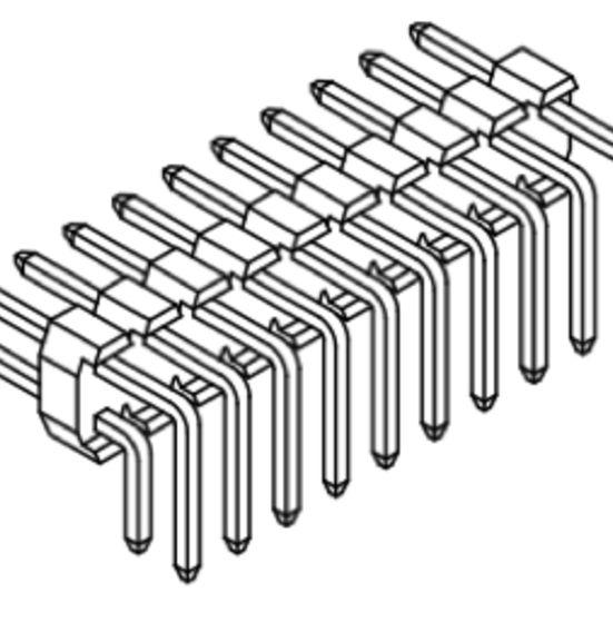 Produkt Nr. A200120 (2.00 mm Pitch; THT)