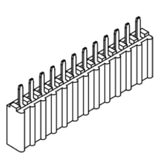 Produkt Nr. B254109 (2.54 mm Pitch; THT)