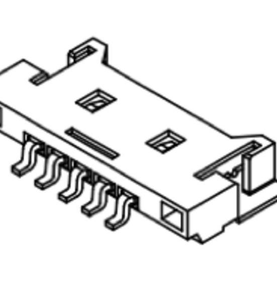 Produkt Nr. C125407 (1.25 mm Pitch; SMT)