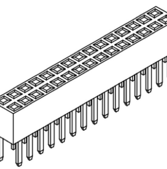 Produkt Nr. B200112 (2.00 mm Pitch; THT)