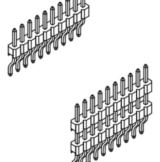 Produkt Nr. A254157 (2.54 mm Pitch; SMT)