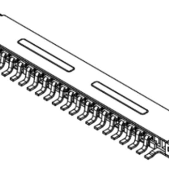 Produkt Nr. C100402 (1.00 mm Pitch; SMT)