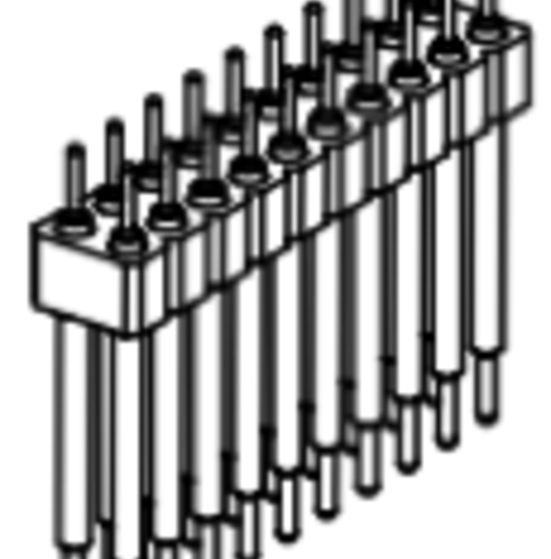 Produkt Nr. AP254116 (2.54 mm Pitch; THT)