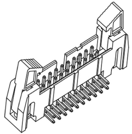 Produkt Nr. A254187 (2.54 mm Pitch; THT)