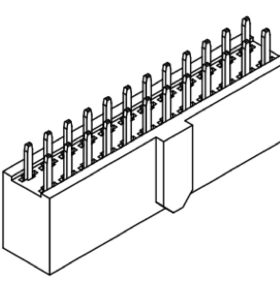 Produkt Nr. B254180 (2.54 mm Pitch; THT)