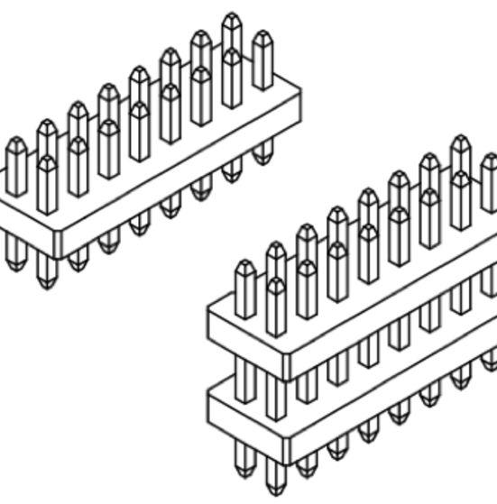 Produkt Nr. A100102 (1.00 mm Pitch; THT)