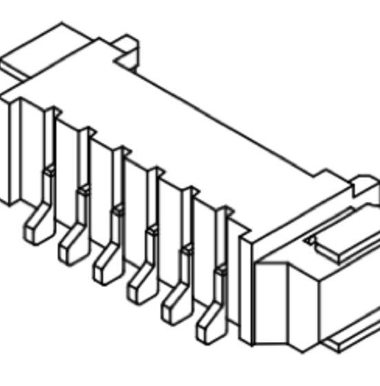 Produkt Nr. C125404 (1.25 mm Pitch; SMT)