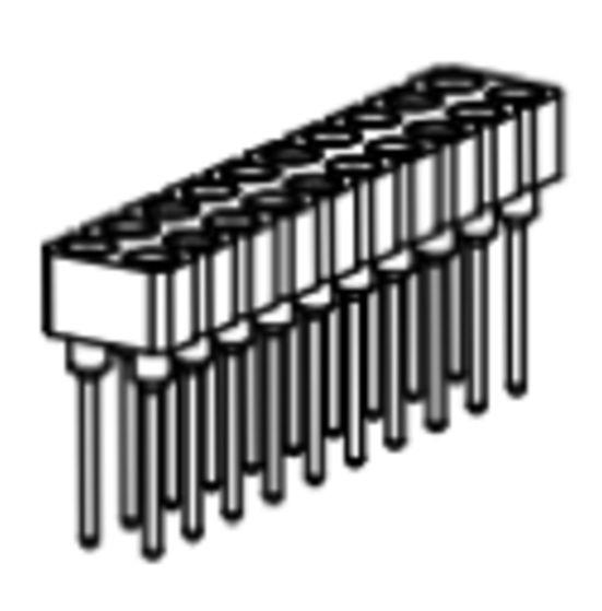 Produkt Nr. BP254112 (2.54 mm Pitch; THT)