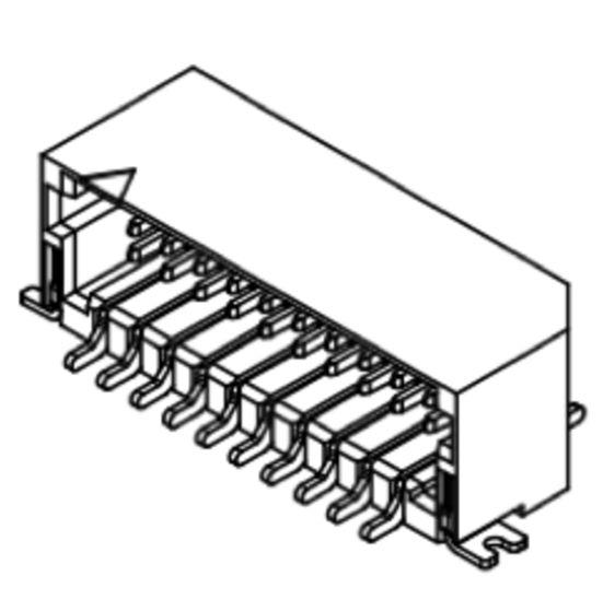 Produkt Nr. C100407 (1.00 mm Pitch; SMT)