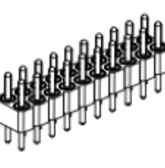 Produkt Nr. AP254120 (2.54 mm Pitch; THT)