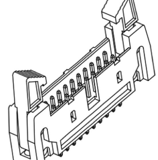 Produkt Nr. A254185 (2.54 mm Pitch; THT)