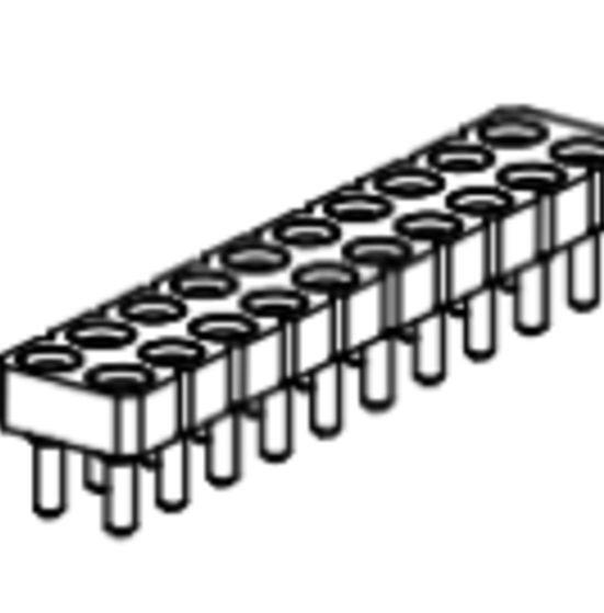 Produkt Nr. BP254102 (2.54 mm Pitch; THT)