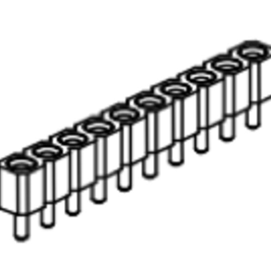 Produkt Nr. BP254103 (2.54 mm Pitch; THT)