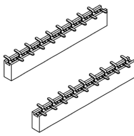 Produkt Nr. B127153 (1.27 mm Pitch; SMT)