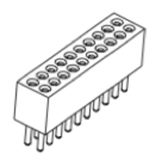 Produkt Nr. BP127102 (1.27 mm Pitch; THT)