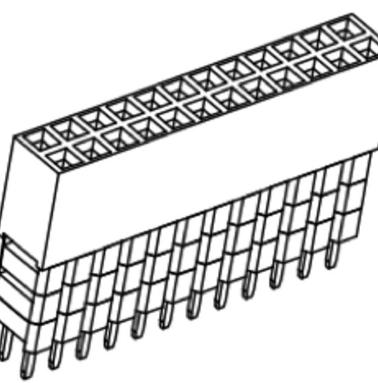 Produkt Nr. B254118 (2.54 mm Pitch; THT)