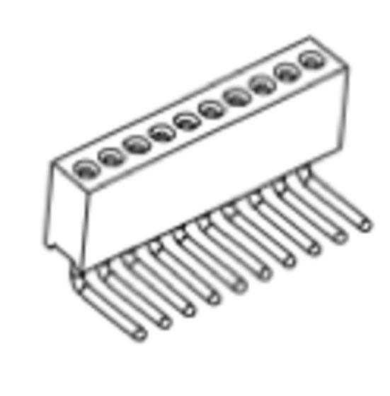 Produkt Nr. BP127121 (1.27 mm Pitch; THT )