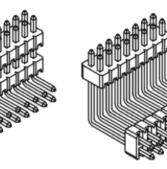Produkt Nr. A127124 (1,27 mm Pitch; THT)