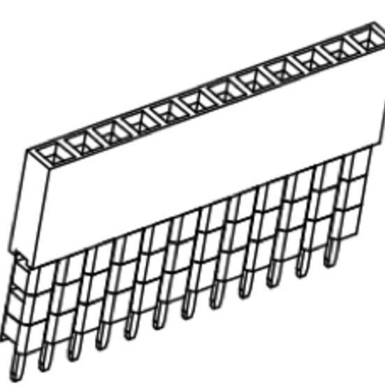Produkt Nr. B254113 (2.54 mm Pitch; THT)