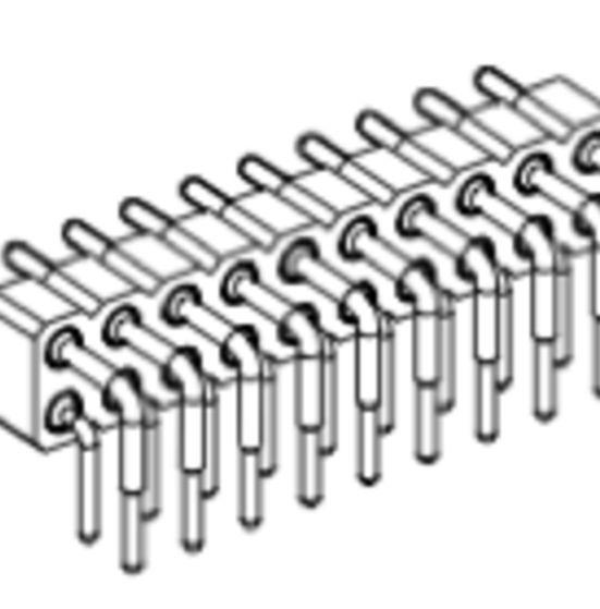Produkt Nr. AP254124 (2.54 mm Pitch; THT)