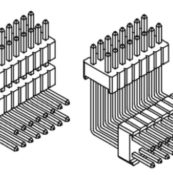 Produkt Nr. A127144 (1.27 mm Pitch; THT)