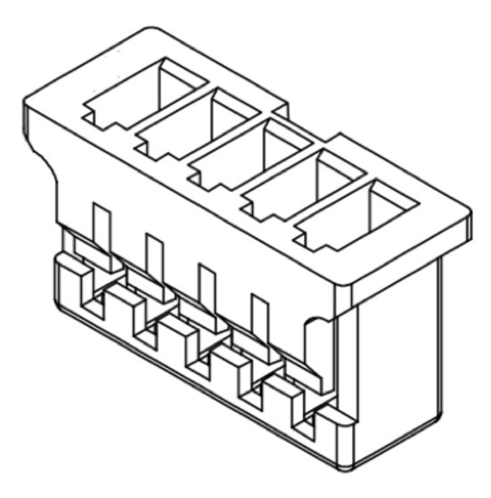 Produkt Nr. D125405 (1.25 mm Pitch Housing and Contacts)
