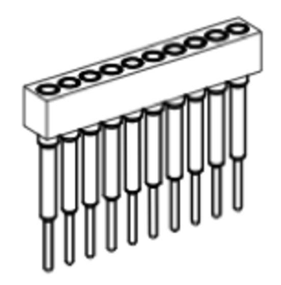 Produkt Nr. BP177105 (1.77 mm Pitch; THT)