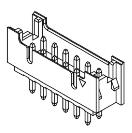 Produkt Nr. C200404 (2.00 mm Pitch, THT)