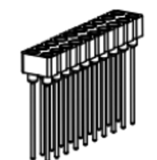 Produkt Nr. BP254118 (2.54 mm Pitch; THT)