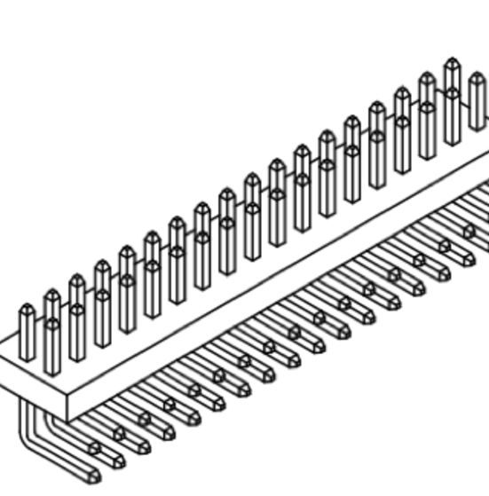 Produkt Nr. A100122 (1.00 mm Pitch; THT)