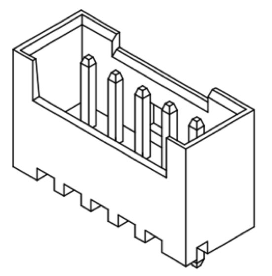 Produkt Nr. C125405 (1.25 mm Pitch; THT)