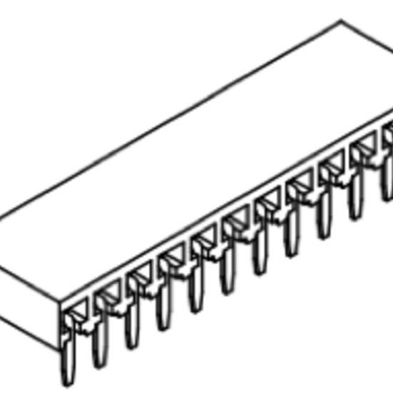 Produkt Nr. B254127 (2.54 mm Pitch; THT)