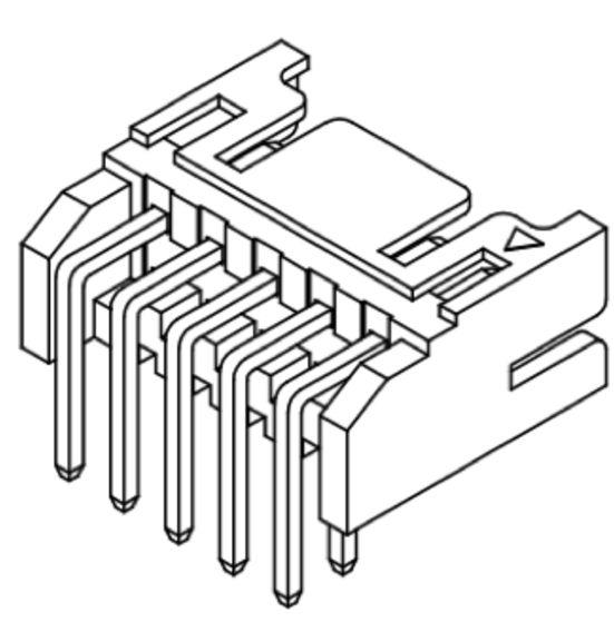 Produkt Nr. C200412 (2.00 mm Pitch; THT)