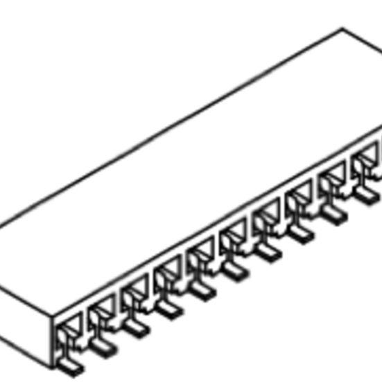 Produkt Nr. B254159 (2.54 mm Pitch; SMT)
