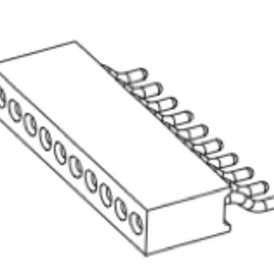 Produkt Nr. BP127157 (1.27 Pitch; SMT)