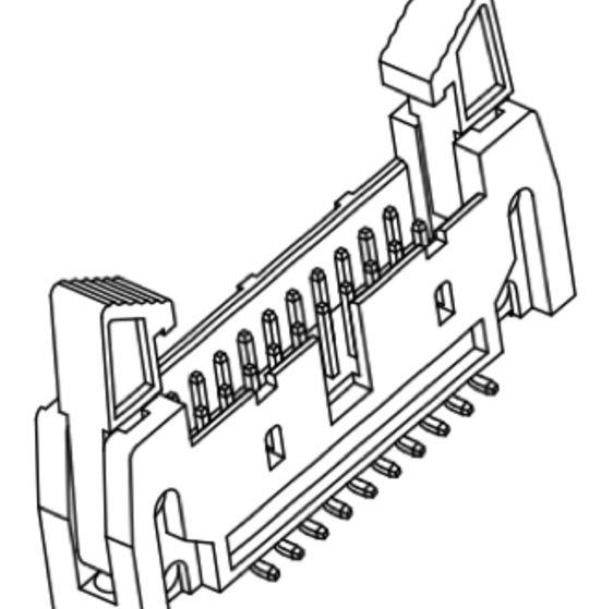 Produkt Nr. A254189 (2.54 mm Pitch; SMT)