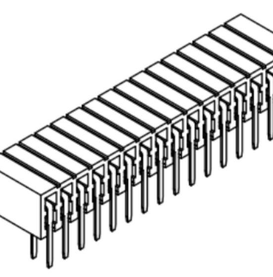 Produkt Nr. B200120 (2.00 mm Pitch; THT)