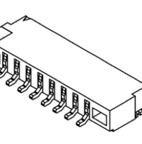 Produkt Nr. C125408 (1.25 mm Pitch; SMT)
