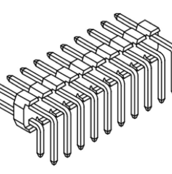 Produkt Nr. A254120 (2.54 mm Pitch; THT)