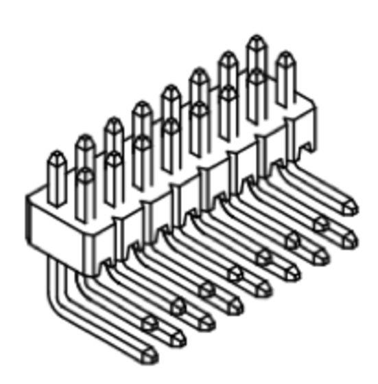 Produkt Nr. A127120 (1,27 mm Pitch; THT)