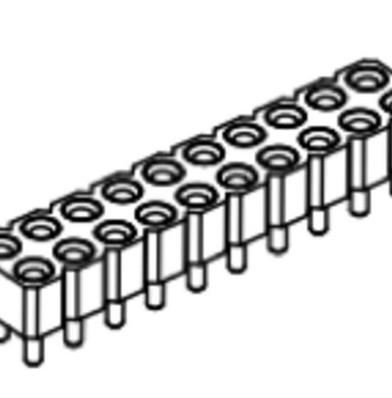Produkt Nr. BP254104 (2.54 mm Pitch; THT)