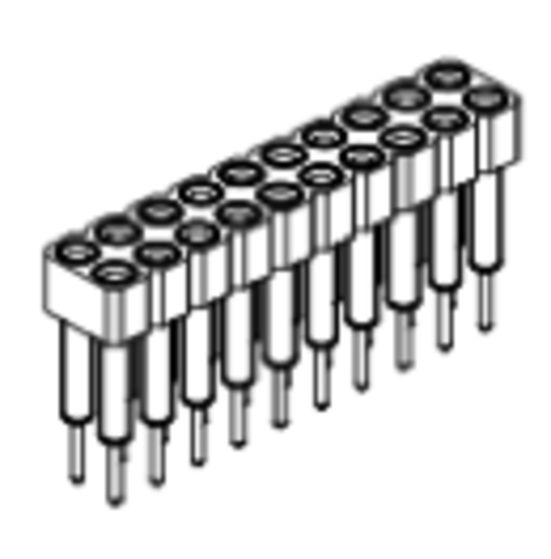 Produkt Nr. BP254114 (2.54 mm Pitch; THT)