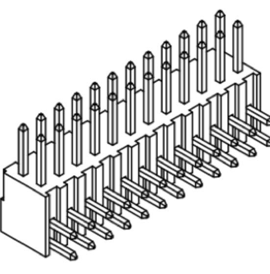 Produkt Nr. A254128 (2.54 mm Pitch; THT)