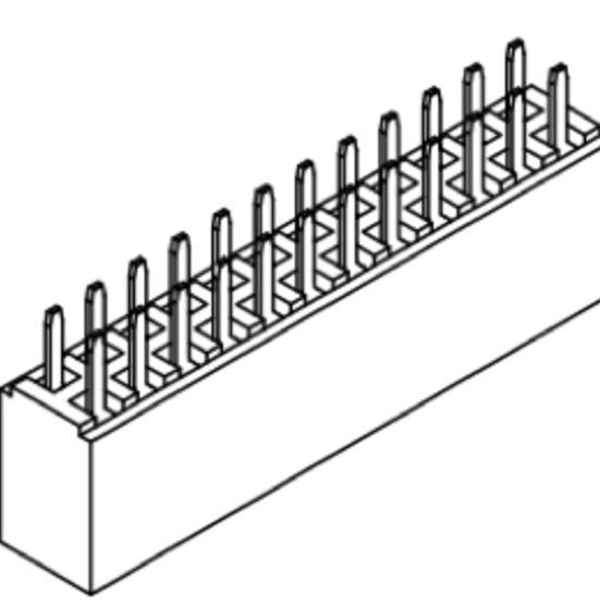 Produkt Nr. B254112 (2.54 mm Pitch; THT)
